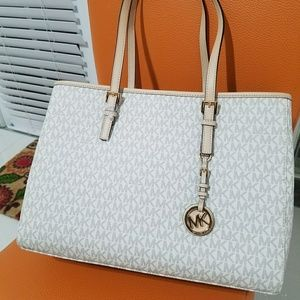 new large tote Authentic michael kors shopper mkne